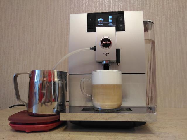 Капучино на кофемашине JURA