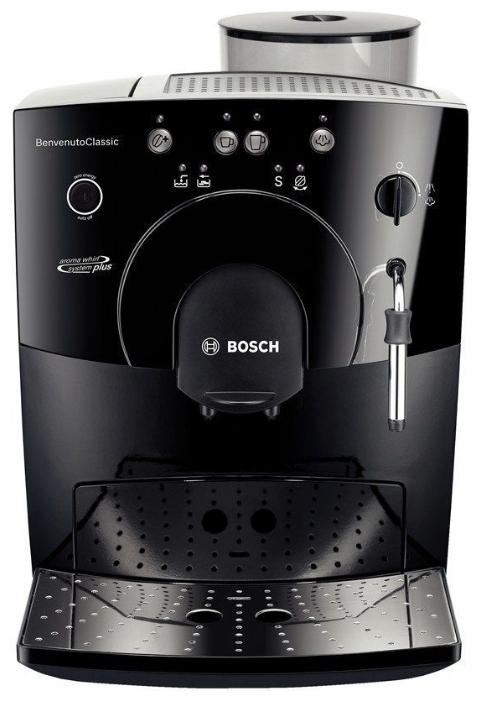 Кофемашина Bosch TCA-5309: вид лицевой стороны кофеварки
