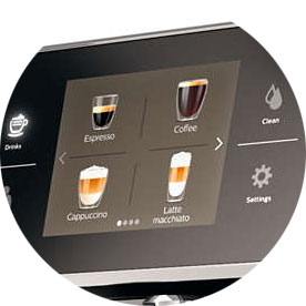 Philips Saeco SM7683 и SM7685 знает 15 рецептов напитков. А Philips Saeco SM7580 умеет гтовить только 13.