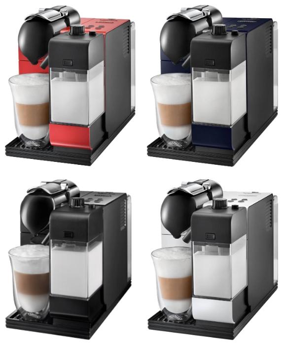 У Делонги Латтиссима 520 четыре цветовых решения: черный, синий, красный, серебристый (серый)ю