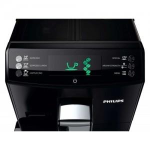 Панель управления у Philips HD8828/09 проста и удобна. На экранчике сэкономили, но это не влияет на качество кофе!