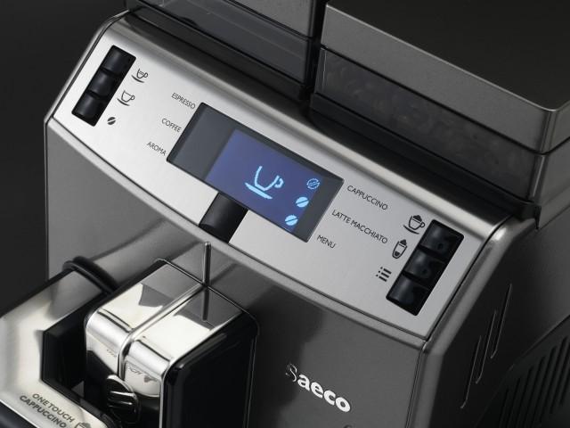 Панель управления кофемашины Саеко Лирика One Touch Cappuccino