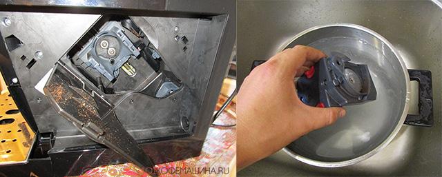 Заврочный блок (brewing unit) Delonghi 22.110/117