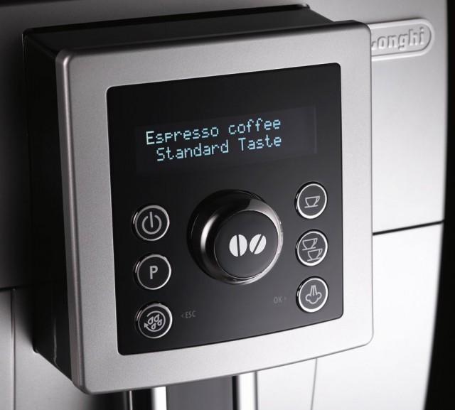 Панель управления кофемашины DeLonghi ECAM 23.420 с экранчиком