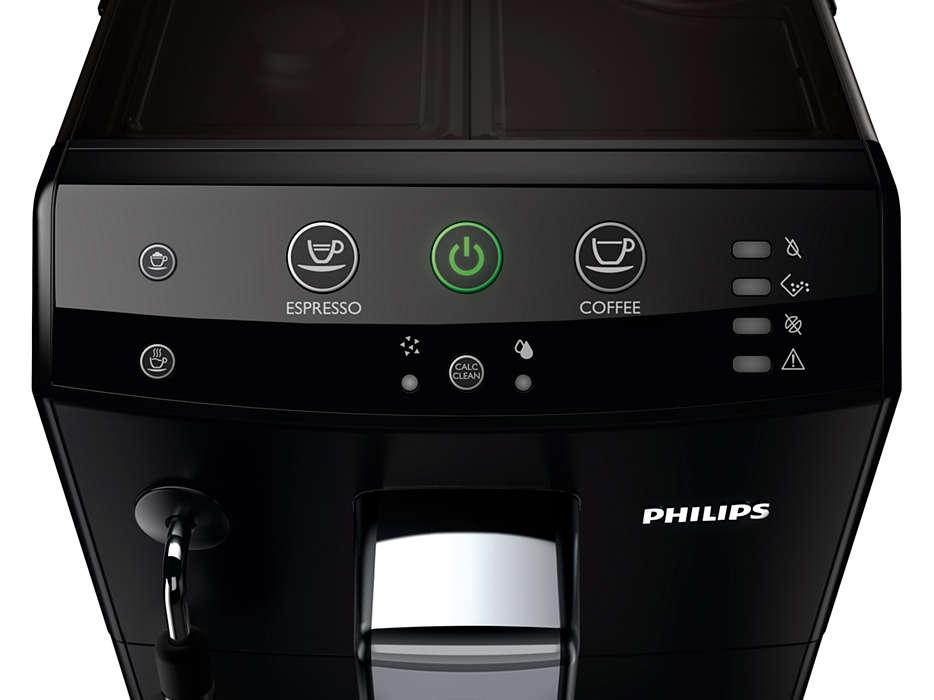 Панель управления кофемашиной Philips HD8825 Series 3000