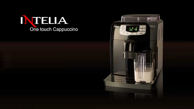 Кофемашина Philips HD8753 19 Intelia One Touch Cappuccino