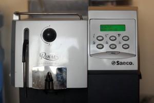 Панель управления saeco royal cappuccino