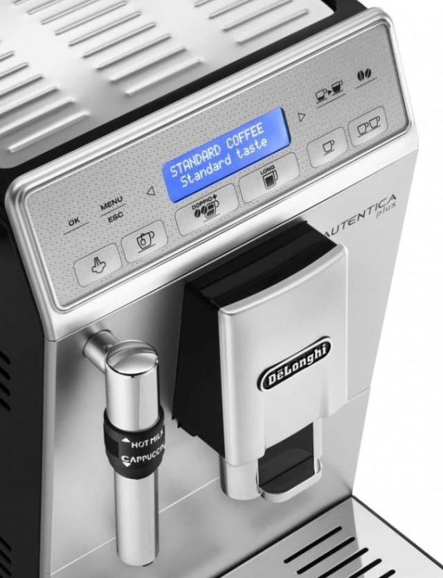 Кофемашина Delonghi ETAM 29.620 SB Autentica Plus с фирменной функцией LONG