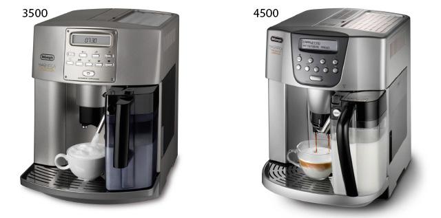 DeLonghi ESAM 3500 и ESAM 4500