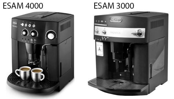 Кофемашины Delonghi ESAM 4000 Magnifica и Magnifica 3000 технически идентичны.