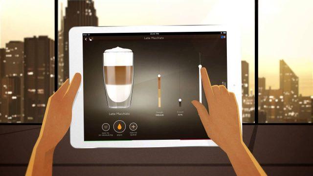 Управление кофемашиной Granbaristo Avanti с планшета