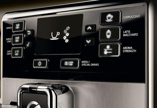 Панель управления кофемашины Philips Saeco HD 8928 Пикобариста