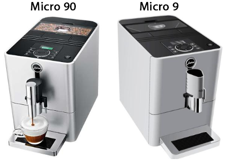 Сравнение кофемашин Jura Micro 90 и Jura Micro 9