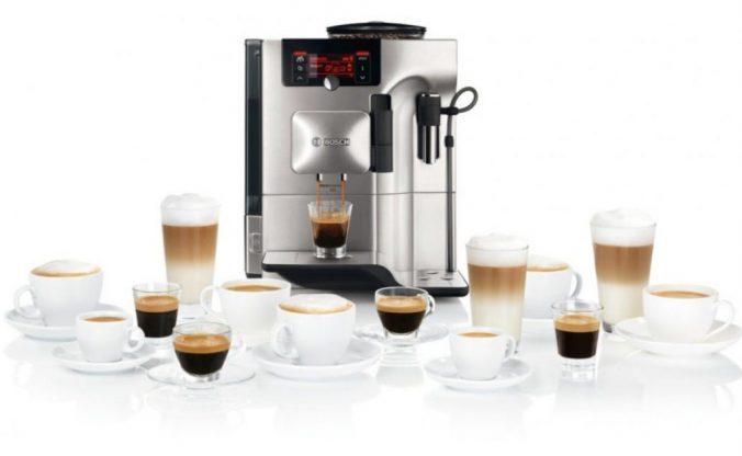 Кофемашины линейки Bosch VeroSelection с завода знают 8 разных рецептов кофе