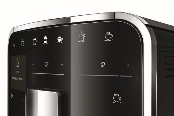 Экран и сенсорные кнопки управления кофемашиной Melitta Caffeo Barista