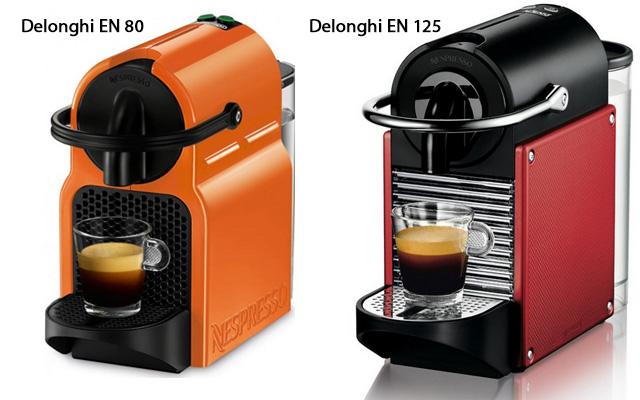 Сравнение кофемашин Delognhi EN 80 и Делонги EN 125 Пикси