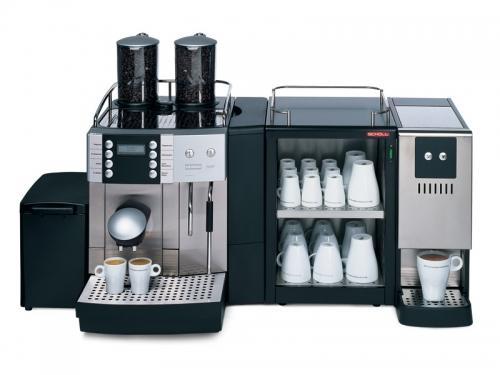 Кофемашина Franke Flair с дополнительным оборудованием