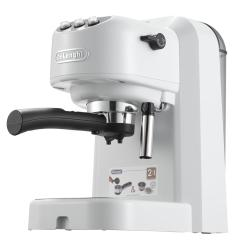 Белая рожковая кофеварка Delonghi EC 250 W