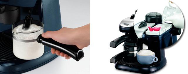 Ручной и полуавтоматический капучинатор