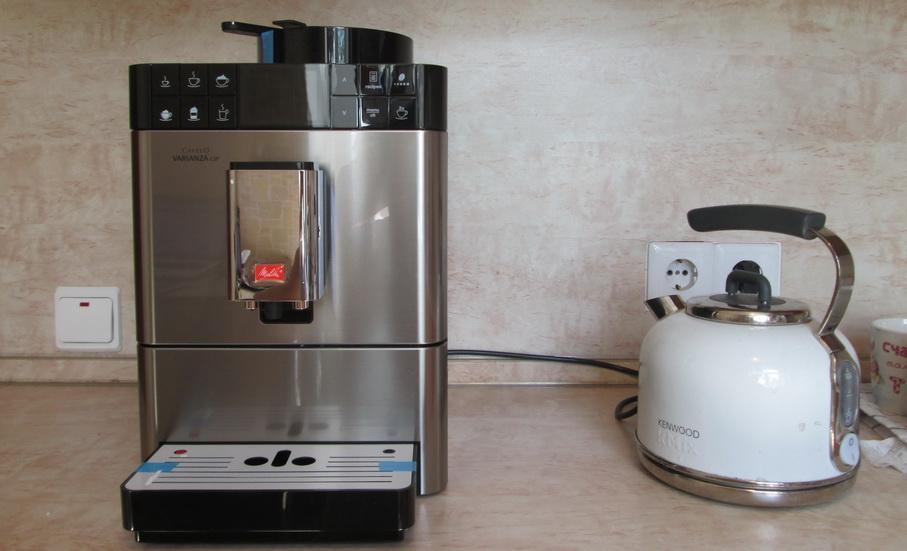 Melitta caffeo varianza csp на столе