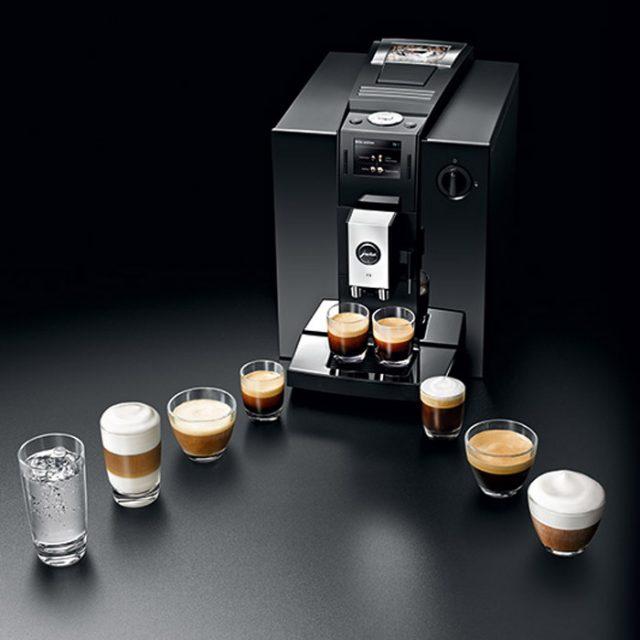 Jura Impressa F9 piano black на самом деле «знает» девять разных кофейных рецептов. а не 14, как уверяет производитель.