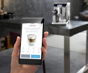 Мобильное приложение для кофемашина Delonghi