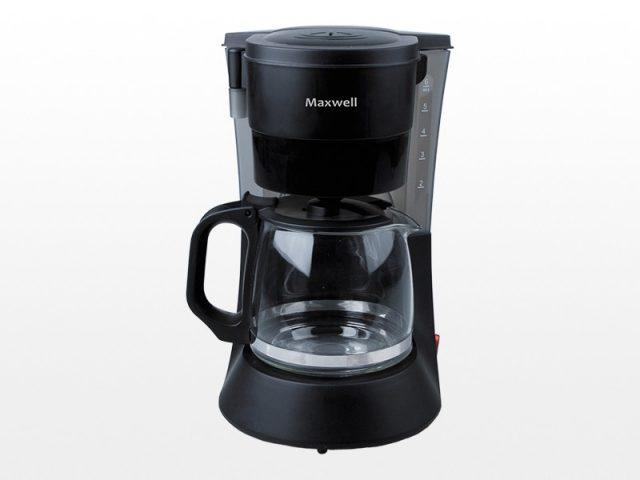 Супер-дешевая капельная кофеварка Maxwell MW-1650 BK. Но для любителей фильтр-кофе - нормальный вариант