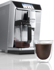 DeLonghi ECAM 650.75 Hot Chocolate. Приготовление горячего шоколада или какао - редкая функция