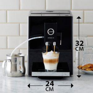 Размеры кофемашины JURA A9. Ширина и высота.
