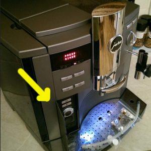 Rotary Switch на кофемашине JURA S9