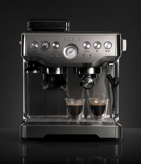 Кофейная станция BORK C801 (рожковая кофеврка и кофемолка в едином корпусе)