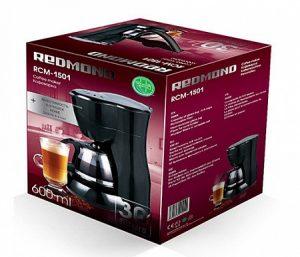 Капельная кофеварка REDMOND RCM-1501 в коробке
