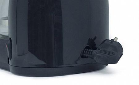 Фишка кофеварки Редмонд 1501 - прячущийся в корпус шнур