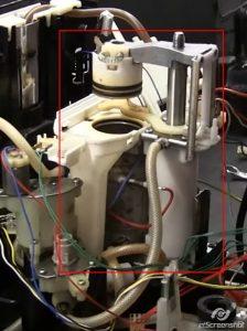 Заварочное устройство всех кофемашин Krups серии Expresseria