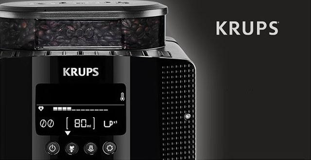 Фото кофемашины Krups EA815070 (полный аналог с другим артикулом - Krups EA8150)