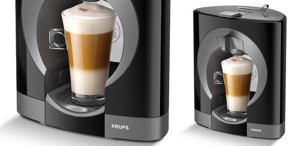 Dolce Gusto Krups KP 1108 / KP110810 Piano Black – полностью черная кофеварка