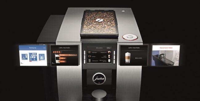 Экран кофемашины Юра Z6