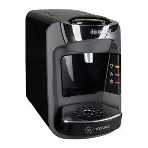 Чёрная кофемашина капсульного типа Bosch TAS 3202