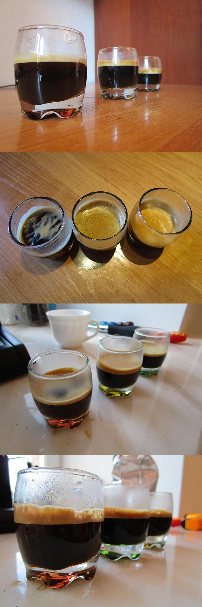 Тест пенки крема