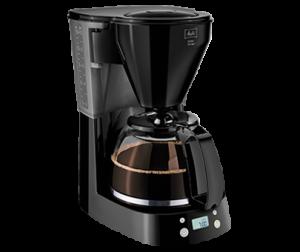 Чёрная капельная кофеварка Melitta Easy в модификации с таймером.