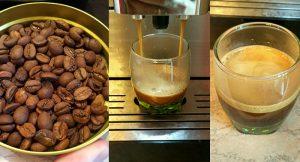 Приготовление эспрессо из Копи Лювак