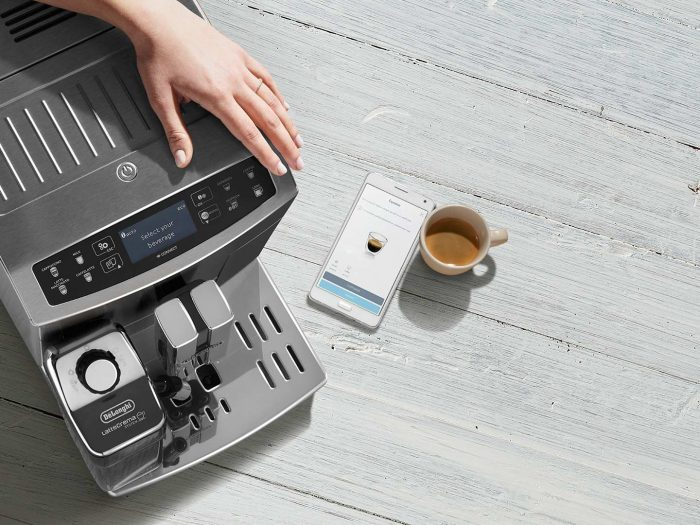 Удаленное управление кофемашиной De Longhi PrimaDonna S Evo 510.55.M