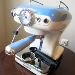 Рожковая кофеварка Ariete 1389 Vintage Blue