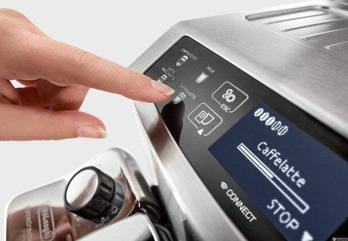 Новое управление реализовано в кофемашине ECAM 510.55.M