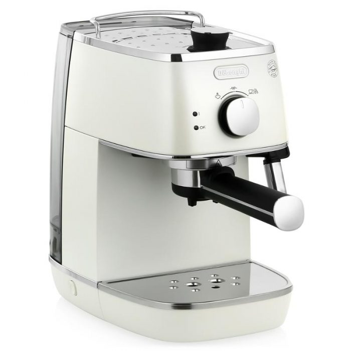 Delonghi Coffee Maker Ec7 : De Longhi ECi341.W Distinta Pump Espresso Coffee Maker in White eBay