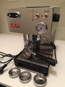 Рожковая кофеварка Лелит PL041TEM