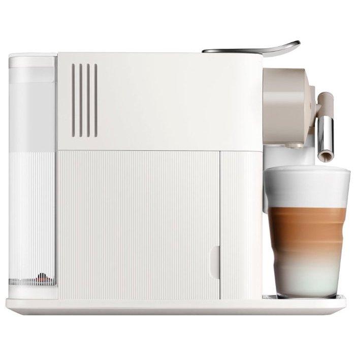 Белая капсульная кофеварка с автоматическим капучино - это Delonghi EN500W