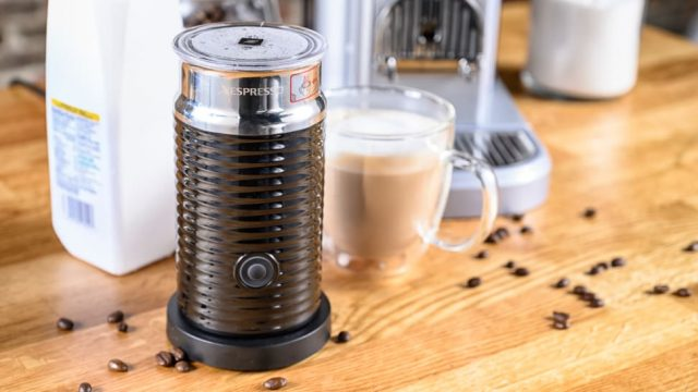 nespresso aeroccino вспениватель молока