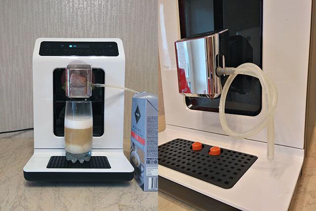 Капучино на кофемашине Krups EA8901, Krups EA8908, Krups EA890D