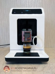 Эспрессо на кофемашине Krups Evidence